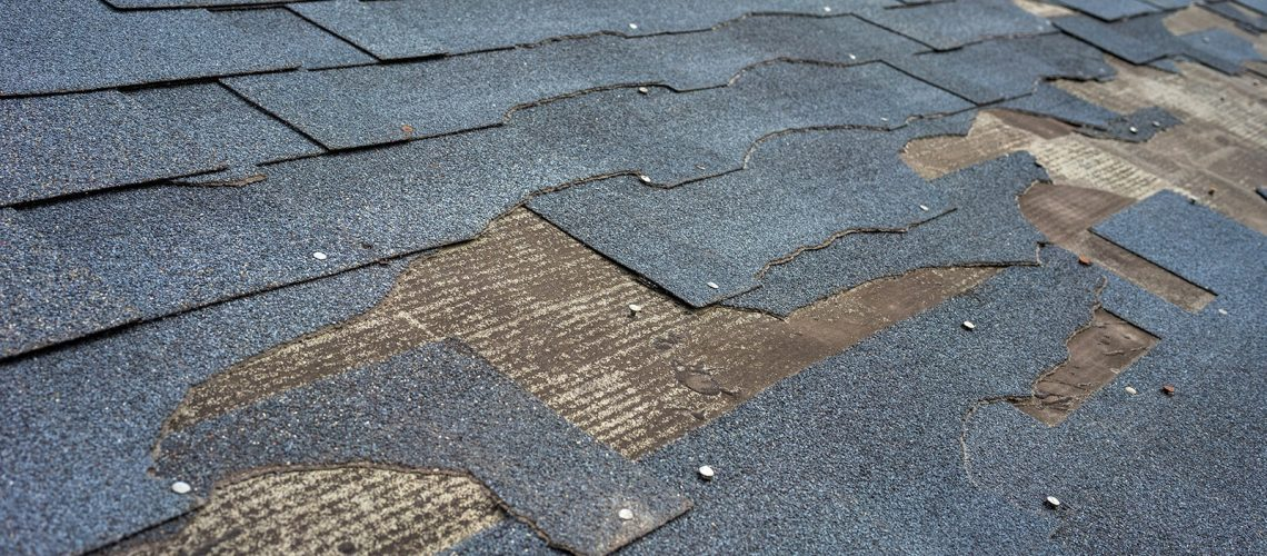 Missing Shingles Roof Replacement Needed